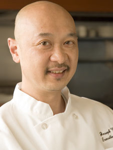 The Sole Proprietor seafood restaurant Executive Chef, Joseph Wong